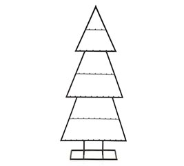 """43"""" DISPLAY TREE FOR ORNAMENTS"""