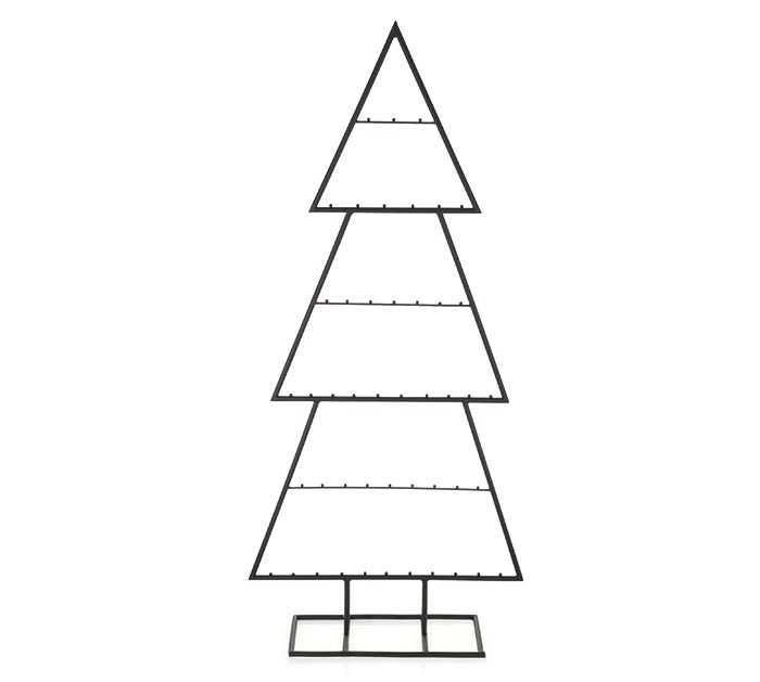 "43"" DISPLAY TREE FOR ORNAMENTS"