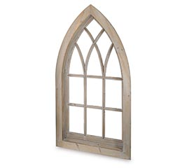 LARGE CATHEDRAL CHURCH WINDOW DECOR