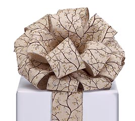 RIBBON #40 KHAKI BROWN TREE