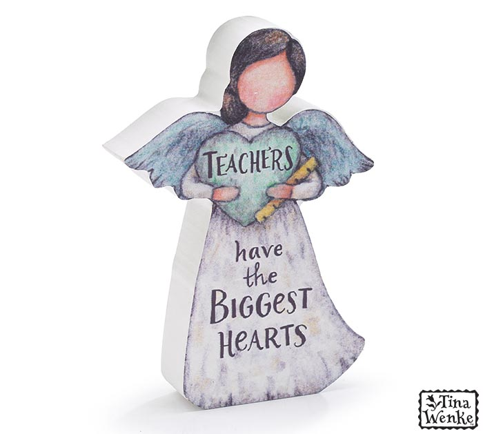 TEACHERS HAVE THE BIGGEST HEARTS ANGEL