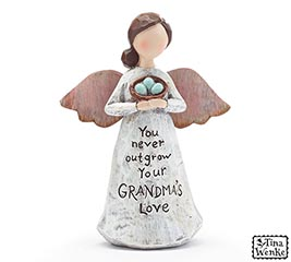 GRANDMA MESSAGE ANGEL FIGURINE