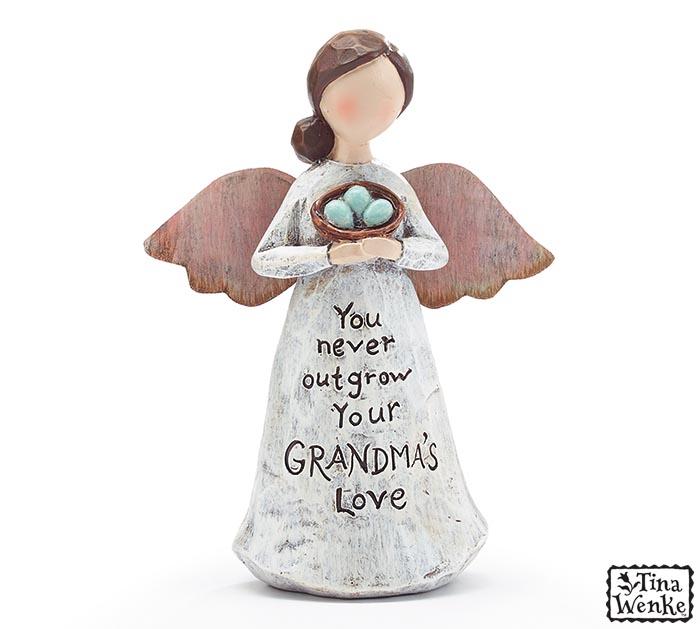 GRANDMA MESSAGE ANGEL FIGURINE