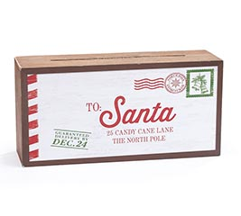 LETTERS TO SANTA TABLETOP MAILBOX