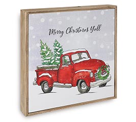 MERRY CHRISTMAS Y'ALL WALL HANGING