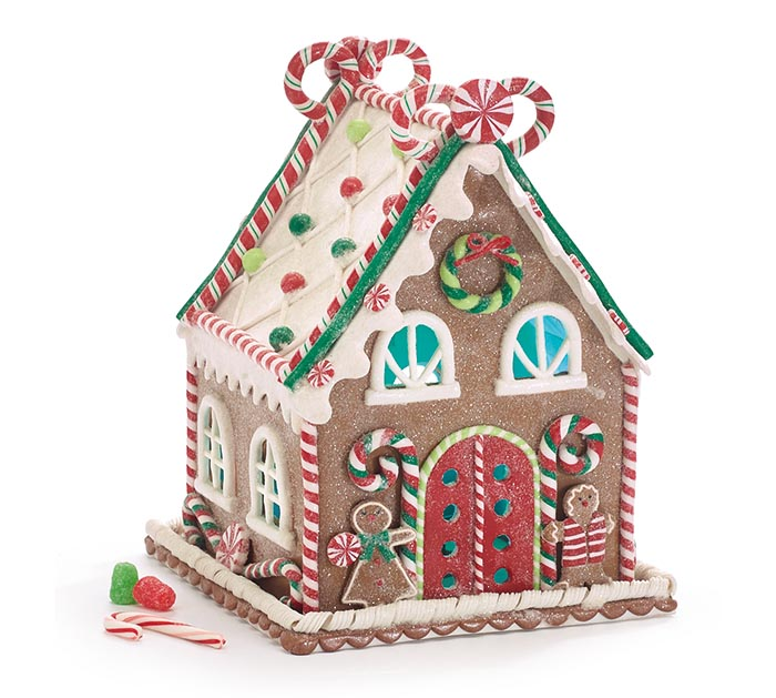 LIGHT UP GINGERBREAD HOUSE