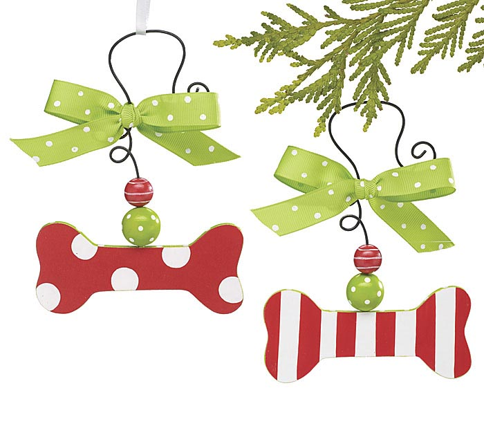 DOG BONE ORNAMENT ASSORTMENT