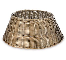 TREE BASKET LARGE BUFF WILLOW GRAY