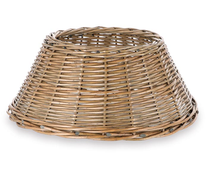 TREE BASKET SMALL BUFF WILLOW GRAY