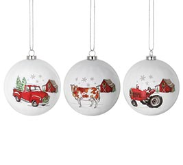 MERRY CHRISTMAS WITH FARM IMAGES