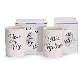 YOU AND ME BETTER TOGETHER ASSORTED MUGS