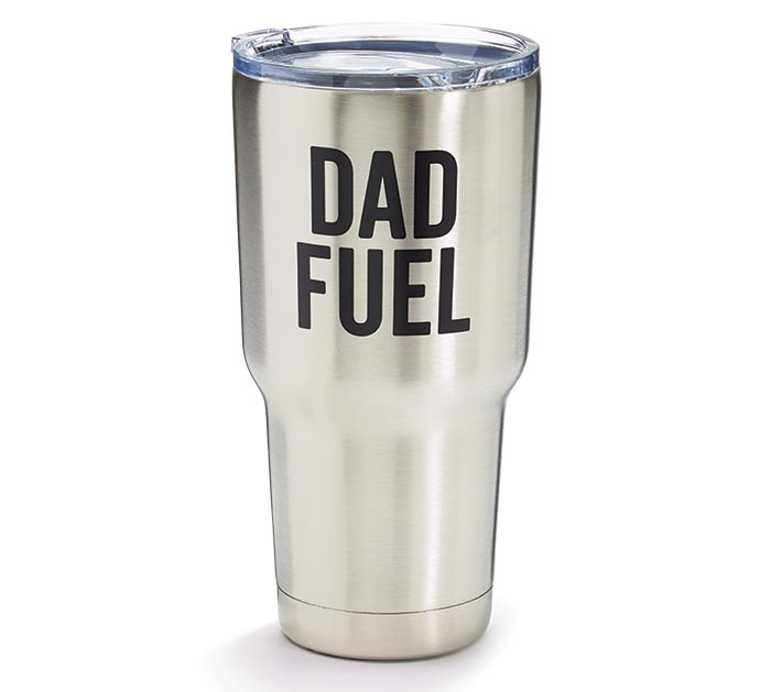 DAD FUEL STAINLESS TRAVEL TUMBLER