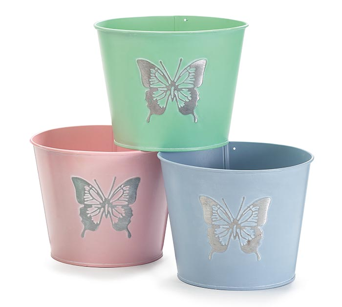 BUTTERFLY POT COVER ASSORTMENT