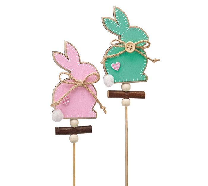 EASTER BUNNY PICK ASSORTMENT PINK  TEAL
