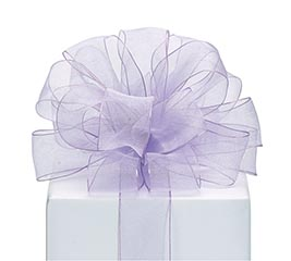 #9 RIBBON SHEER LAVENDER
