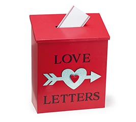 VALENTINE LOVE LETTERS MAILBOX DECOR