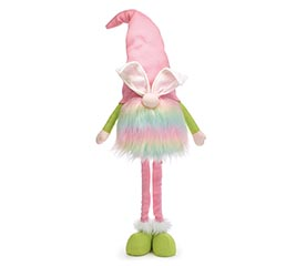 PASTEL RAINBOW EASTER BUNNY GNOME