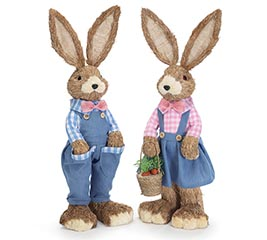 COUNTRY BUNNY COUPLE DRESS IN DENIM