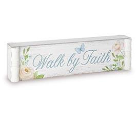 HE IS RISEN/WALK BY FAITH SHELF SITTER