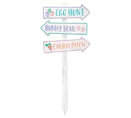 EASTER DIRECTIONAL ROAD YARD STAKE