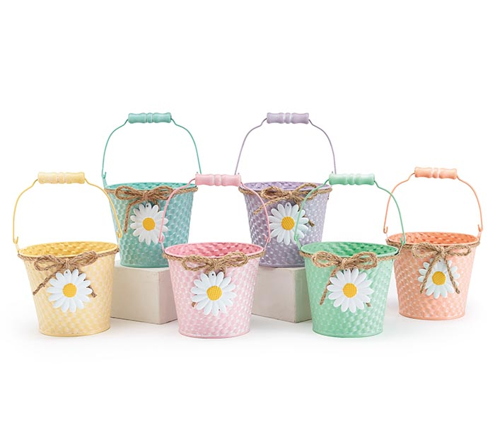 DAISY TIN PAIL ASSORTMENT