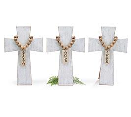 FAITH HOPE  LOVE CROSS ASSORTMENT