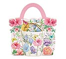 FLORAL MUG WITH CARDBOARD CARRIER 1st Alternate Image