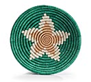 "RWANDA WEAVING HOPE 7"" STARBURST BASKET 1st Alternate Image"