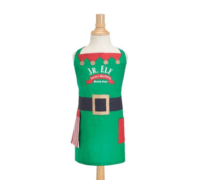 Christmas  Santas work shop waitressserver aprons 3 pockets 1615