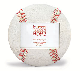 BASEBALL SHAPED PICTURE FRAME