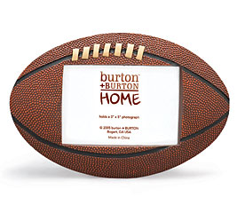 FOOTBALL SHAPED PICTURE FRAME