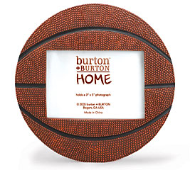 BASKETBALL SHAPED PICTURE FRAME