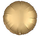"17""SOL SATIN LUXE GOLD SATEEN ROUND"