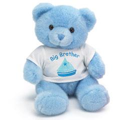PLUSH BLUE BIG BROTHER BEAR