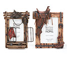 WESTERN THEME PICTURE FRAME SET