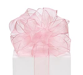#9 PINK SHEER RIBBON