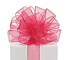 #9 FUCHSIA SHEER RIBBON