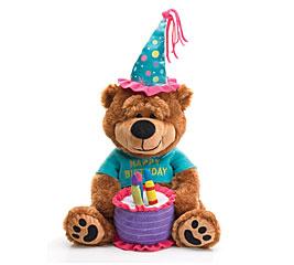 PLUSH HAPPY BIRTHDAY BEAR