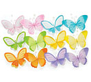SPRING COLORS NYLON SMALL BUTTERFLY SET