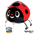 "14""PKG LADY BUG PET"