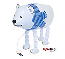 "23""PKG POLAR BEAR PET"