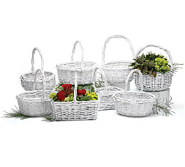 HEAVY WILLOW BASKET