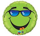 """18""""PKG GREEN SMILE"""