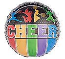 "17""PKG SPO CHEER ON BLACK"