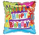 """17""""PKG HBD BIRTHDAY CAKE"""