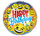 "17""PKG HAPPY BIRTHDAY EMOTICONS"