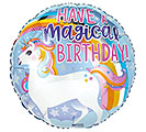 "17""PKG HAVE A MAGICAL BIRTHDAY UNICORN"