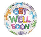 "17""PKG GET WELL BALLOON ANIMALS"