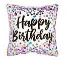 "17"" PKG POLKA DOT BIRTHDAY BALLOON"