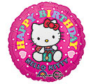 "17""HBD HELLO KITTY"